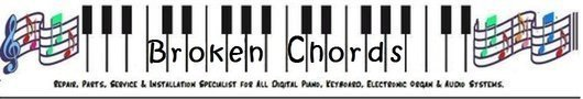Broken Chords Electronic Musical Instrument repair, parts and accessories specialist.